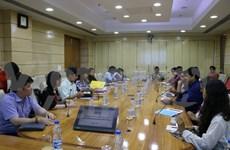胡志明市国家政治学院代表团对印度进行工作访问