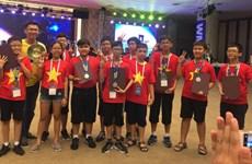 越南学生在国际奥林匹亚数学竞赛中夺得9枚奖牌