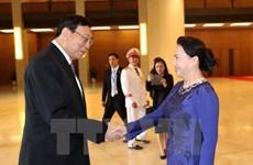 泰国立法议会议长蓬佩圆满结束对越南的正式访问