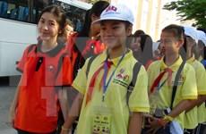 越老建交55周年:2017年越老儿童友谊夏令营在庆和省举行