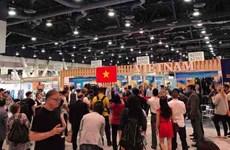 越南企业考察美国纺织市场