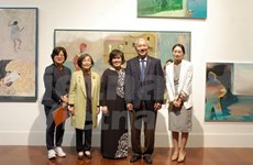 庆祝越韩建交25周年的美术特展亮相韩国