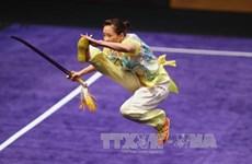 第29届东运会:越南运动员在武术剑术和武术棍术赛项夺金