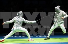 第29届东运会:击剑运动员武成安为越南体育代表团拿下第七枚金牌