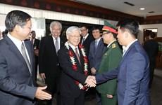 越共中央总书记阮富仲访问印尼和缅甸为双边关系吹来一阵新风