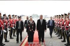 越共中央总书记阮富仲已抵达雅加达 开始对印尼进行正式访问