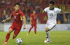 第29届东南亚运动会男足比赛:越南队与印度尼西亚队0-0握手言和