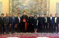 越南跨部门工作代表团对梵蒂冈进行工作访问