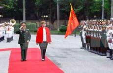 澳大利亚联邦国防部长对越南进行正式访问