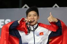 第29届东运会:越南游泳运动员阮友金山夺金