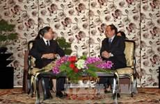 胡志明市领导会见中国政协外事委员会代表团