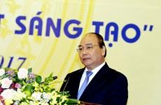 阮春福:激发创新兴趣 培养智慧才能 把越南建设成繁荣富强的国家