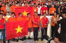 2017年亚太大学生机器人大赛:越南第6次夺冠