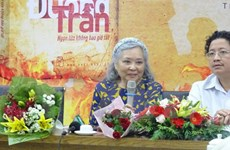 为越南橙剂受害者讨回公道的陈素娥的自传出版