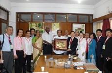 印度共产党领导人会见越南人民代表团