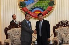 柬埔寨与老挝两国领导就解决边界问题达成4项重要共识