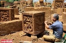 平安红土石砖雕塑业