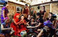 巴姑族婚礼上的各种独特仪式