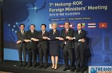 第七届湄公河五国-韩国外长会议在韩国召开