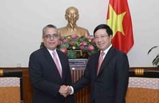 范平明副总理:越南始终支持古巴的革命事业