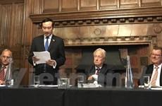 越英网络年度大会在英国首都伦敦召开