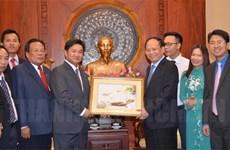 胡志明市青年与老挝和柬埔寨青年促进交流合作