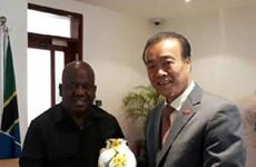 越南驻坦大使:希望两国国会关系日益向前迈进