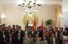 越老两国驻德国大使馆举行交流会 庆祝越老建交55周年