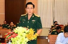 越南与柬埔寨青年官兵加强经验交流