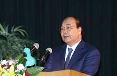 越南政府总理阮春福出席国防学院2017-2018学年开学典礼