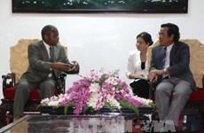 越南薄辽与莫桑比克加扎两省拟签合作协议