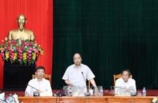 阮春福总理赴广平省指导台风灾后重建工作