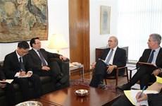 越南共产党代表团对巴西进行工作访问