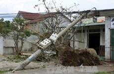 老挝政府总理就越南遭受第10号台风袭击向越南政府总理致慰问电