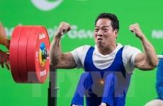 2017年东盟残疾人运动会:越南举重获得两枚金牌