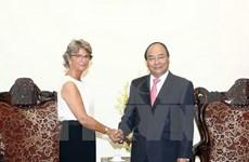 政府总理阮春福会见西班牙新任驻越大使帕洛普