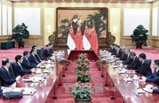 中国希望参与新加坡—马来西亚高铁项目