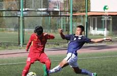 2018年U16亚少赛预选赛:10人越南队5比2击败柬埔寨队