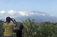 印尼巴厘岛阿贡火山睡50年后近期存在喷发的可能性