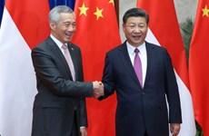 新加坡与中国加强双边关系