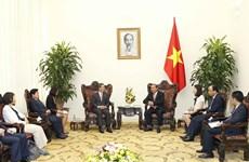 张和平副总理:希望韩国政府为越南公民办理赴韩签证创造便利