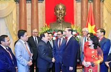 陈大光主席会见东南亚国家红十字会和红新月会领导代表