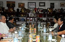 越南同古巴交换新闻事业的发展和管理经验