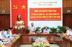 阮春福总理:创建文明、富有特色并恪守法律至上原则的城市