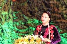 国会主席阮氏金银出席首次全国瑶族文化节开幕式