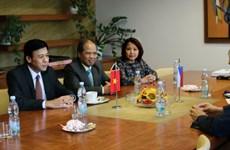越南与捷克各地促进合作关系