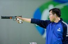 越南射击运动员黄春荣仍稳居男子10米气手枪世界第一