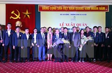 越南代表团出征第44届世界技能大赛