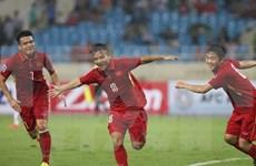 越南队以5:0战胜柬埔寨队