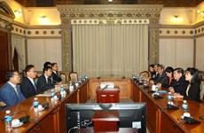 釜山乃至韩国企业将胡志明市乃至越南视为潜力巨大的新市场